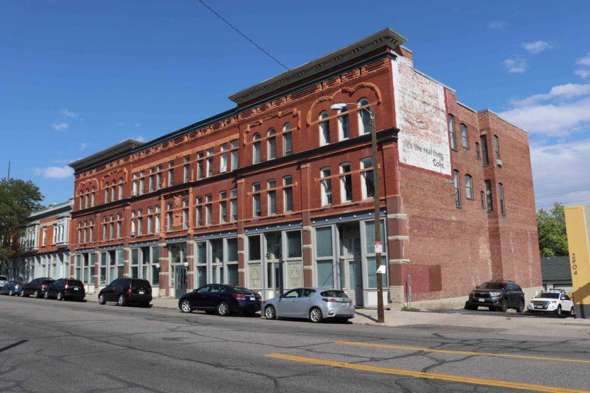 Affordable housing historic Denver building retrofitted ICAST